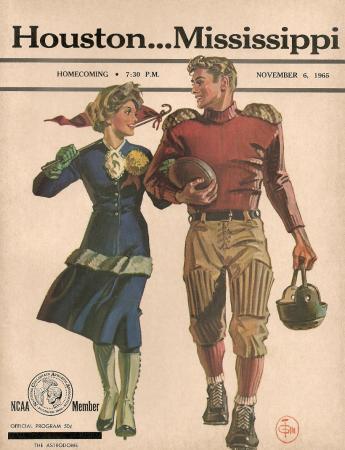 Houston vs Ole Miss - November 6, 1965
