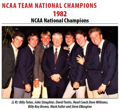 1982 NCAA Golf Champs