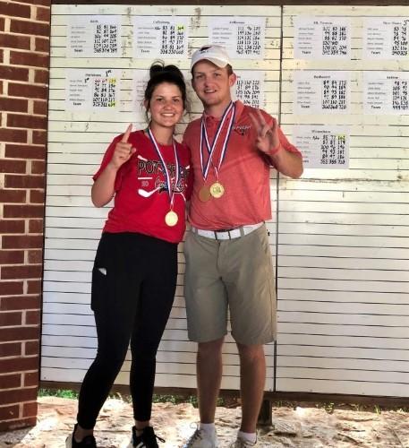 Alli and Austyn Reily both win at Regionals