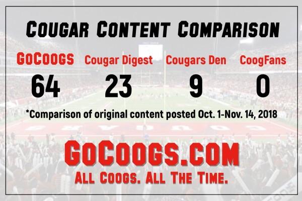 Cougar Content Comparison