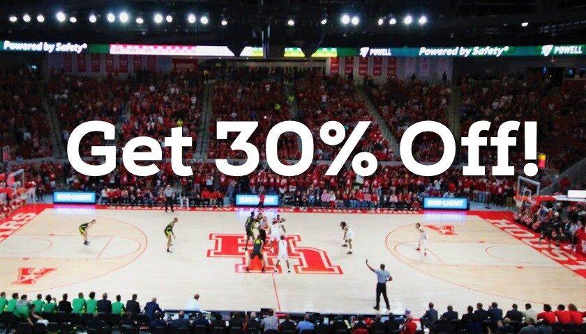 Get 30% off GoCoogs.com