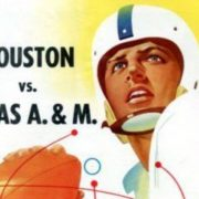 Houston vs A&M program 1954