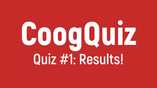 CoogQuiz Results