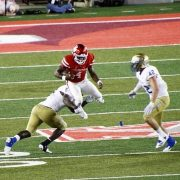 D'Eriq King vs Tulsa