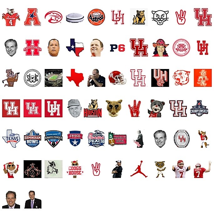 UH Emojis Available Exclusively With A GoCoogs Insider Subscription