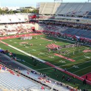 TDECU 40 minutes until kickoff