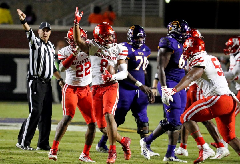Houston Cougars 42, ECU 20 - October 13, 2018